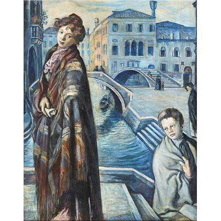 Emile Bernard Venedik'te Sabah Maviliği