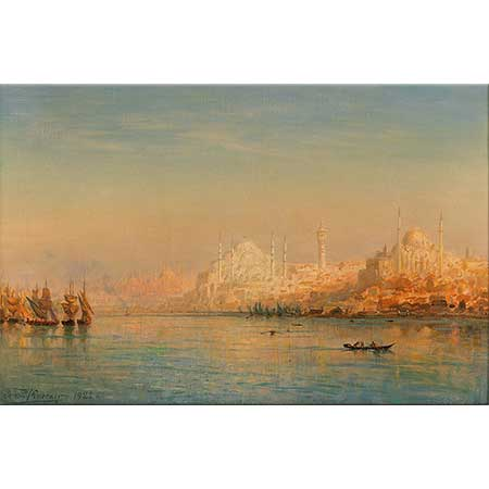 Ernst Koerner İstanbul Manzarası