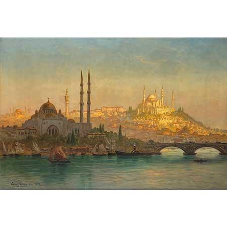 Ernst Koerner Valide Sultan ve Süleymaniye Cami