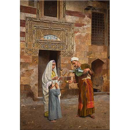 Franz Xaver Kosler Su Satıcısı Kahire