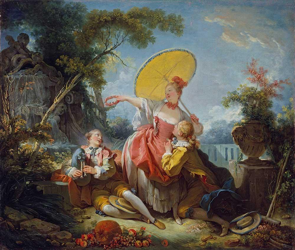 Jean Honore Fragonard Müzikli Rekabet