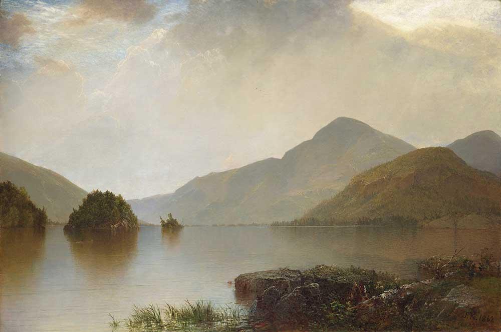 John Frederick Kensett George Gölü