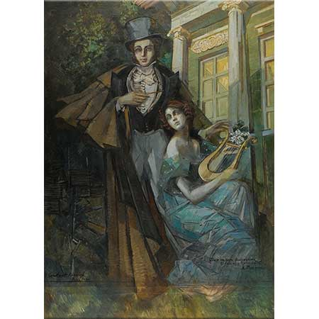 Konstantin Korovin Pushkin ve Müzik Perisi