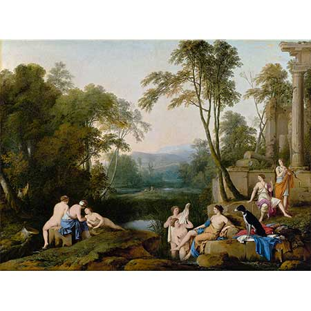 Laurent de La Hyre Diana ve Perileri