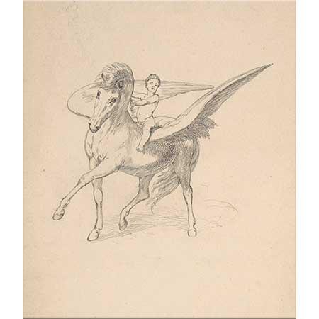 Max Klinger Pegasus ve Genç Bellephron
