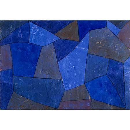 Paul Klee Gece Vakti Kayalıklar