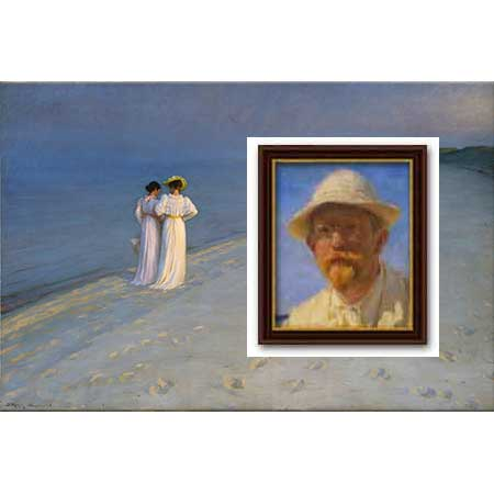 Peder Severin Krøyer Hayatı ve Eserleri