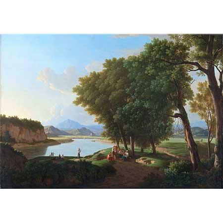 Pieter Rudolph Kleijn Roma Yakınlarında Cetosa Gölü