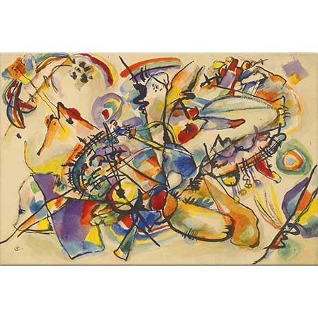 Wassily Kandinsky İsimsiz Kompozisyon